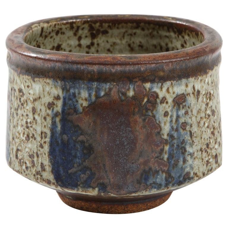 Otto & Vivika Heino Stoneware Bowl For Sale
