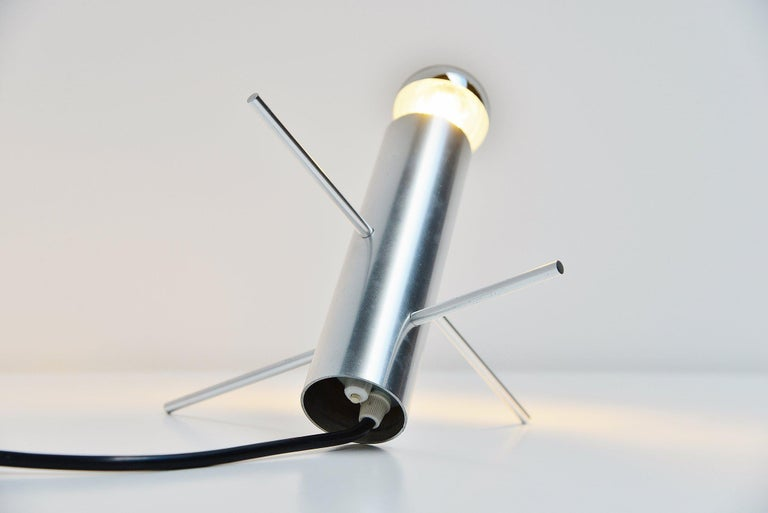 Otto Wach Cricket Lamp by RAAK Amsterdam Holland, 1960 In Good Condition For Sale In Roosendaal, Noord Brabant