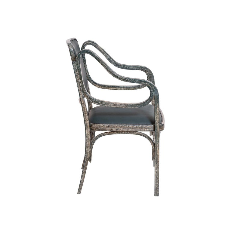 Otto Wagner Armchair 1901 Jugendstil, Secession Style 1901 / Original of Time In Good Condition For Sale In Vienna, AT