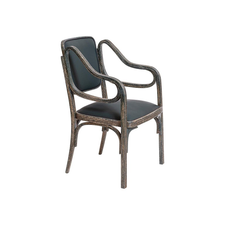 Otto Wagner Armchair 1901 Jugendstil, Secession Style 1901 / Original of Time For Sale