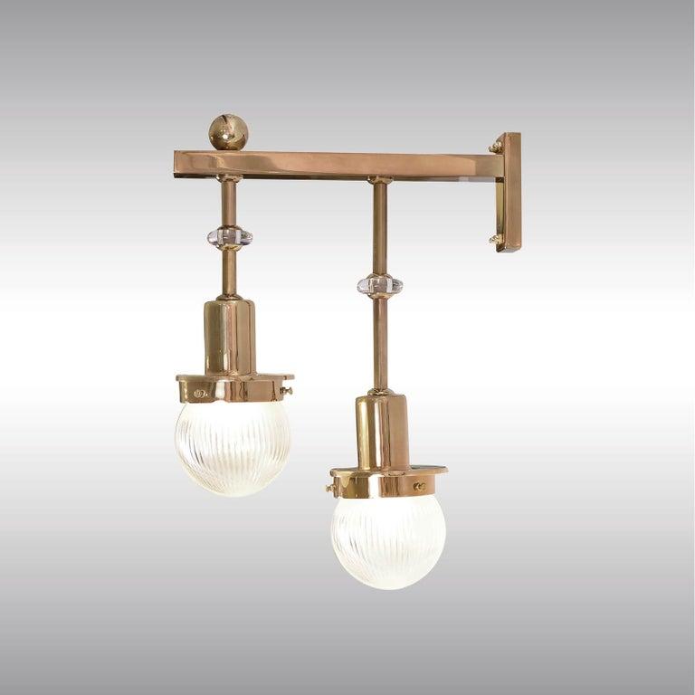 Austrian Otto Wagner & Koloman Moser Wall Light for