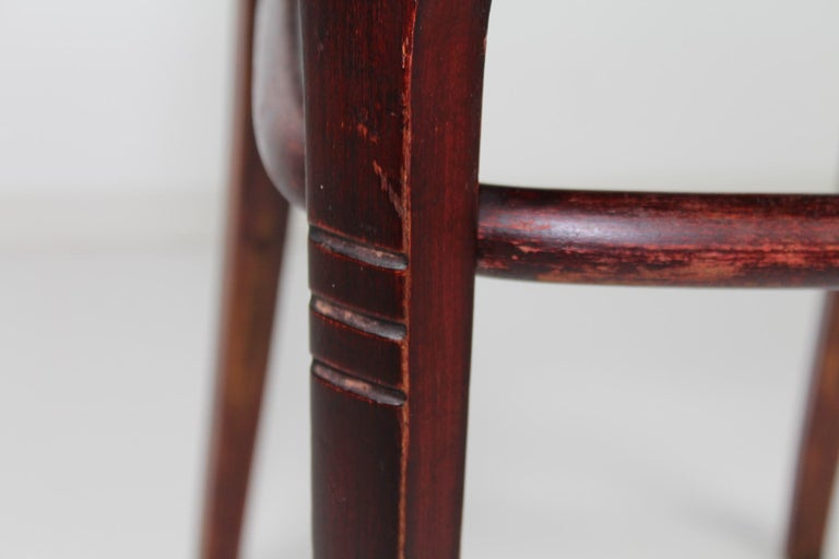 Otto Wagner Rare Chair For The Vienna Post Saving Bank By Thonet Circa 1902