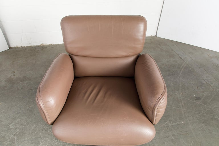 Otto Zapf for Knoll International Leather Desk Chair, c. 1985, Signed  For Sale 10