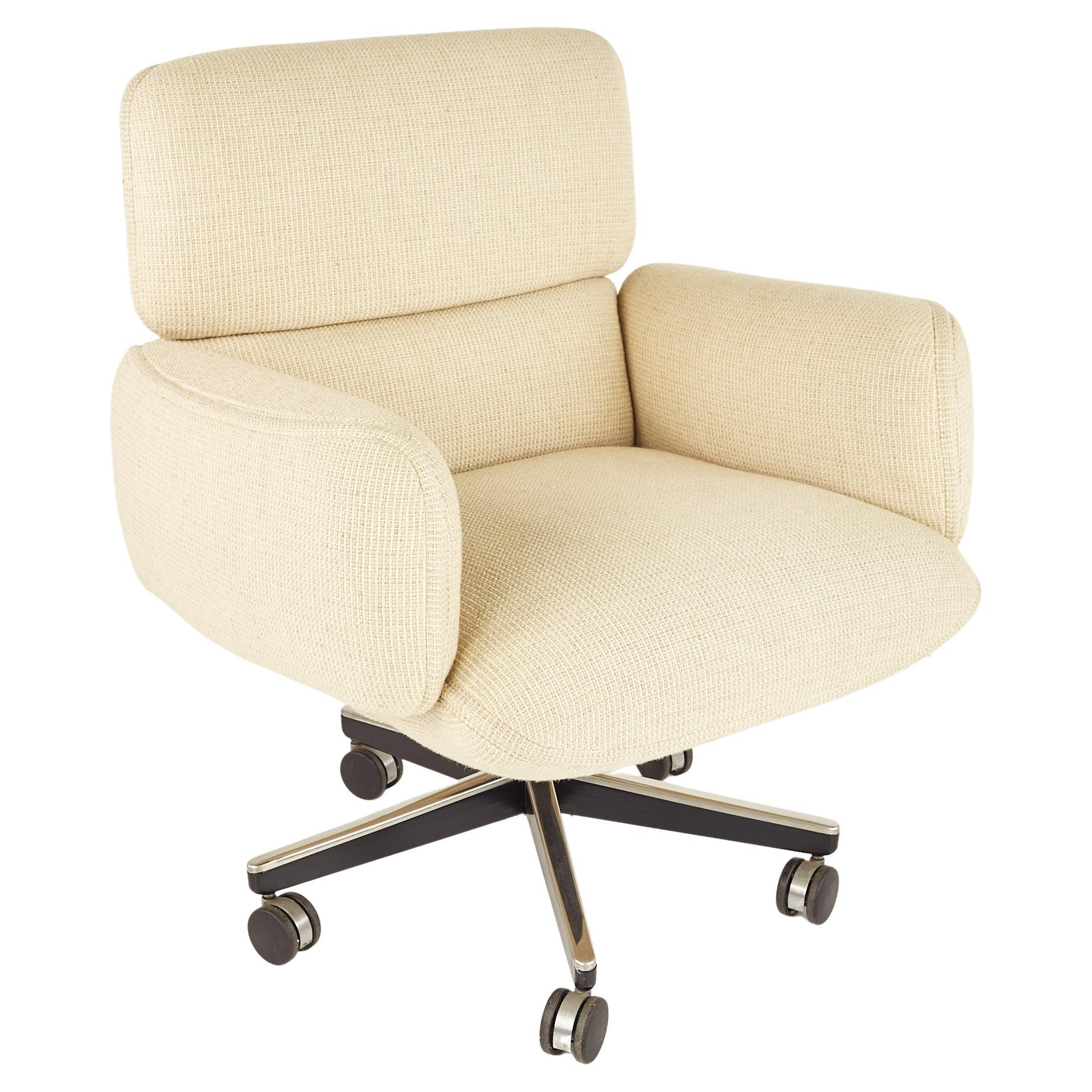 Otto Zapf for Knoll Mid Century Upholstered Office Chair