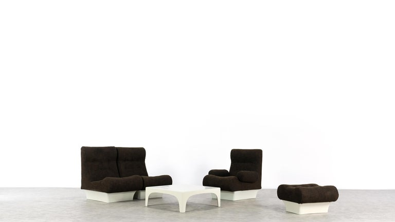 Otto Zapf, Sofalette Living Room Set and Table, 1967 by Vitsœ, Germany For Sale 4