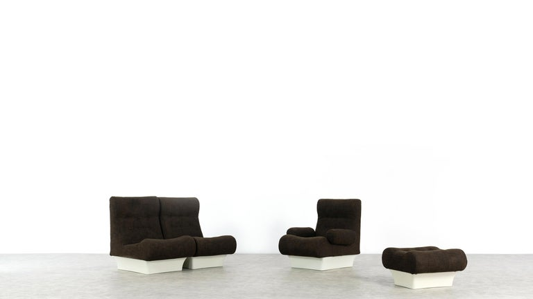 Space Age Otto Zapf, Sofalette Living Room Set and Table, 1967 by Vitsœ, Germany For Sale