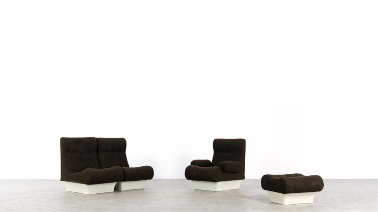 Mid-20th Century Otto Zapf, Sofalette Living Room Set and Table, 1967 by Vitsœ, Germany For Sale