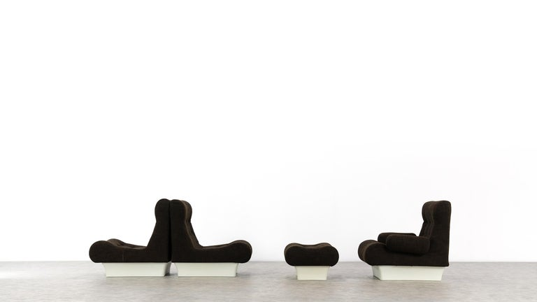 Otto Zapf, Sofalette Living Room Set and Table, 1967 by Vitsœ, Germany For Sale 3