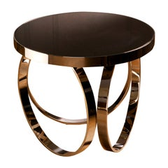 Ottoline Gueridon Chrome Side Table by Dom Edizioni