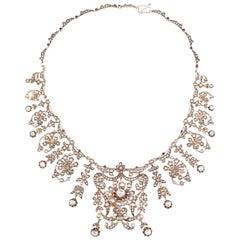 Ottoman Empire Diamond Necklace