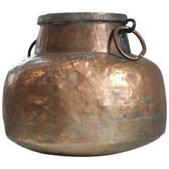 Ottoman Hammered Copper Vessel, 18th Century
