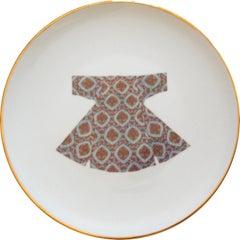 Ottoman Kaftan Porcelain plates Made in Italy, Kaft1
