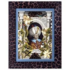 Ottoman Leopard Print 2