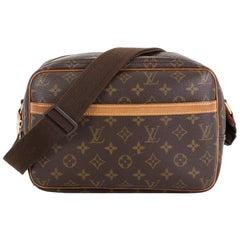 ouis Vuitton Reporter Bag Monogram Canvas PM