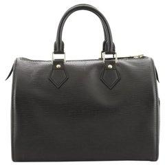 ouis Vuitton Speedy Handbag Epi Leather 25
