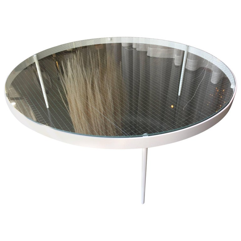 Our Classics Collection Wire Glass Cocktail Table For Sale