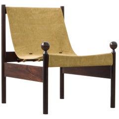 Ouro Preto Lounge Chairs by Jorge Zalszupin, Brazilian Midcentury