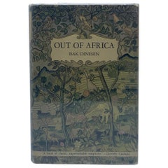 Out of Africa, Isak Dinesen, First Edition