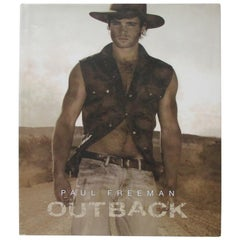 Outback by Paul Freeman Hardcover Coffee Table Book