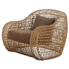 Outdoor Balou Easy Armchair by Kenneth Cobonpue