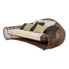 Outdoor Croissant Sofa by Kenneth Cobonpue