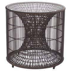 Outdoor End Table by Kenneth Cobonpue