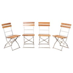 Outdoor Folding Chairs, 20th Century