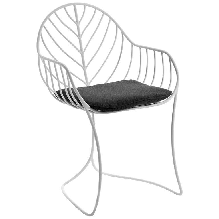 Outdoor Folia Armchair from Royal Botania designed by Kris Van Puyvelde For Sale