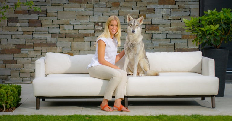 Outdoor Gocek Sofa by Coco Wolf For Sale 4
