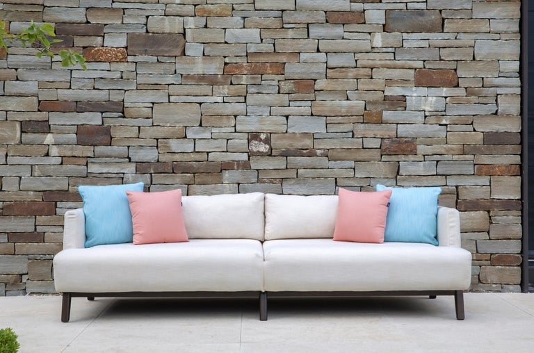 Contemporary Outdoor Gocek Sofa by Coco Wolf For Sale