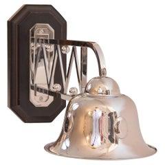 Outdoor/Indoor Luminaire Josef Hoffmann Jugendstil Wall Lamp, Re Edition