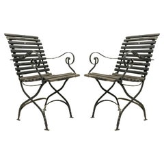 Outdoor Iron Folding Chairs