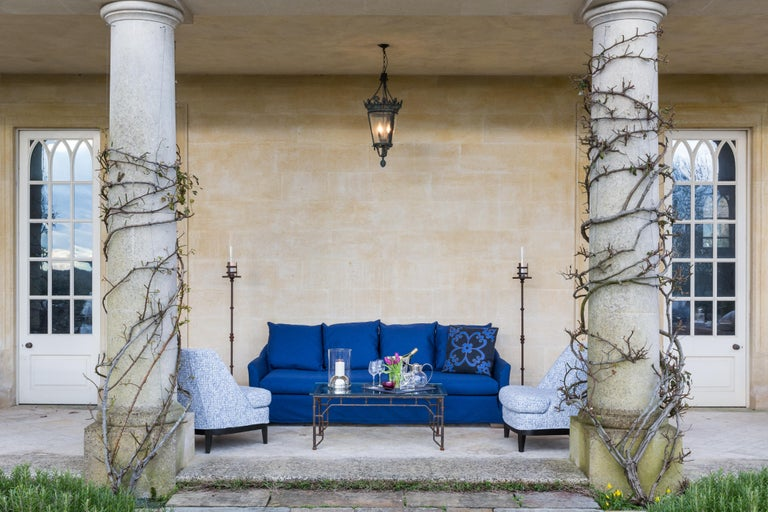 Outdoor Justiniano Armchair by Coco Wolf In New Condition For Sale In Boston, MA