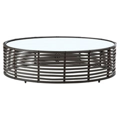 Outdoor Large Oval Lolah Coffee Table by Kenneth Cobonpue