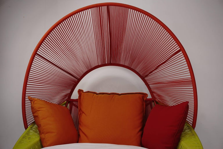 Contemporary Outdoor Lounge Armchair