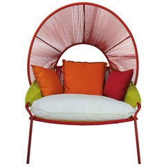 "Outdoor Lounge Armchair ""Traveler"" Design by Stephen Burks European Edition"