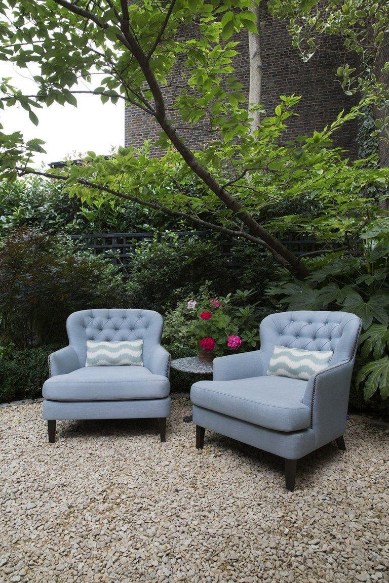 Contemporary Outdoor Masseto Armchair by Coco Wolf For Sale
