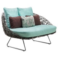 Outdoor Noodle Loveseat by Kenneth Cobonpue