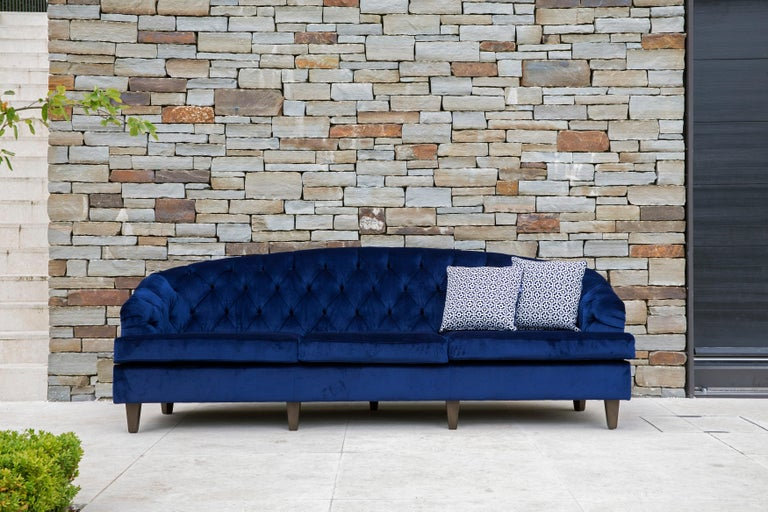Modern Outdoor Percalo Sofa by Coco Wolf For Sale