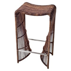 Outdoor Pigalle Bar Stool by Kenneth Cobonpue