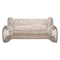 Outdoor Pigalle Loveseat by Kenneth Cobonpue