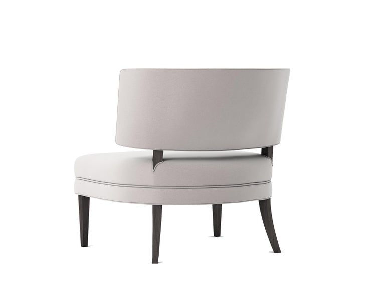 Modern Outdoor Portette Chair by Coco Wolf For Sale