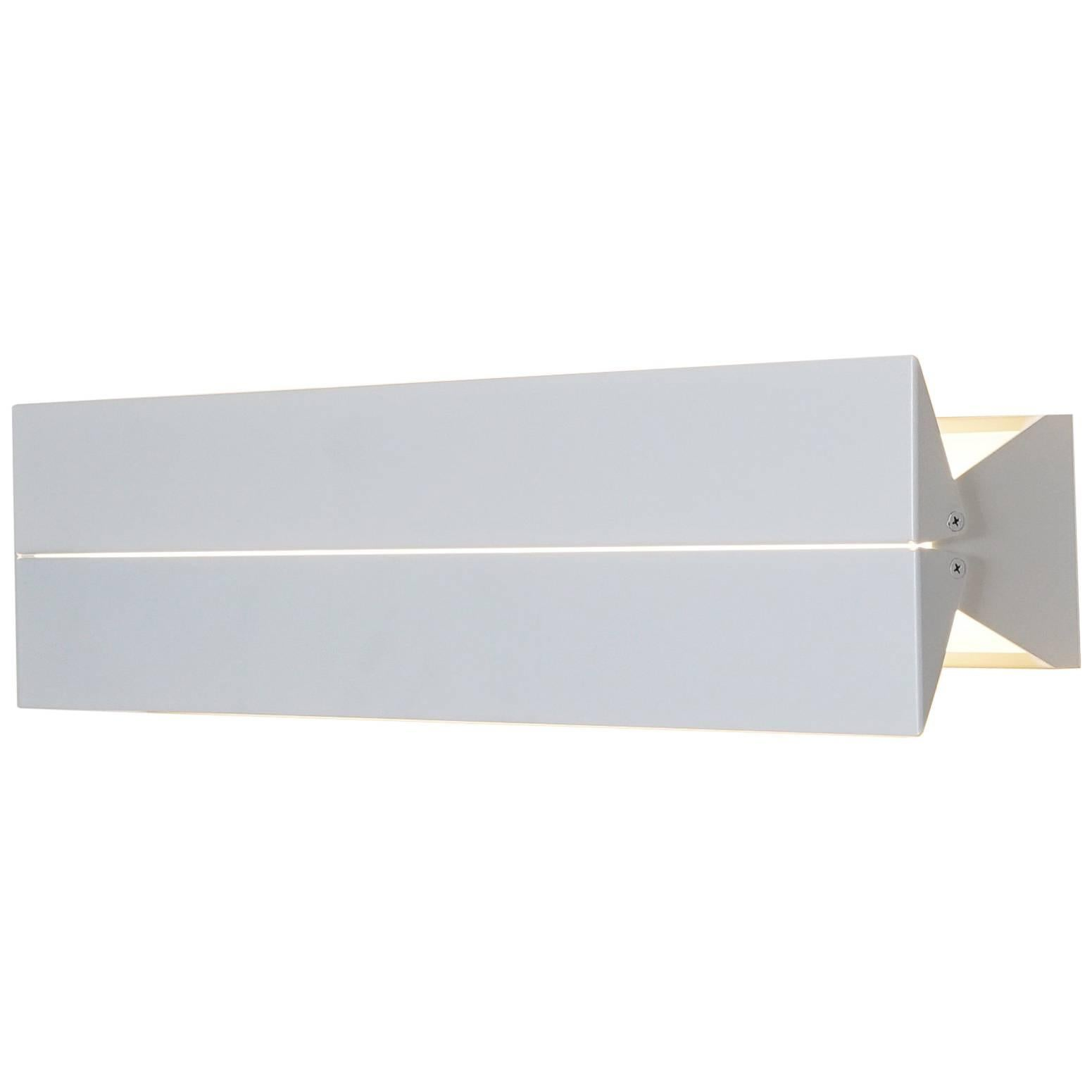 Outdoor Rated Ada Sconce 25 White by Brendan Ravenhill