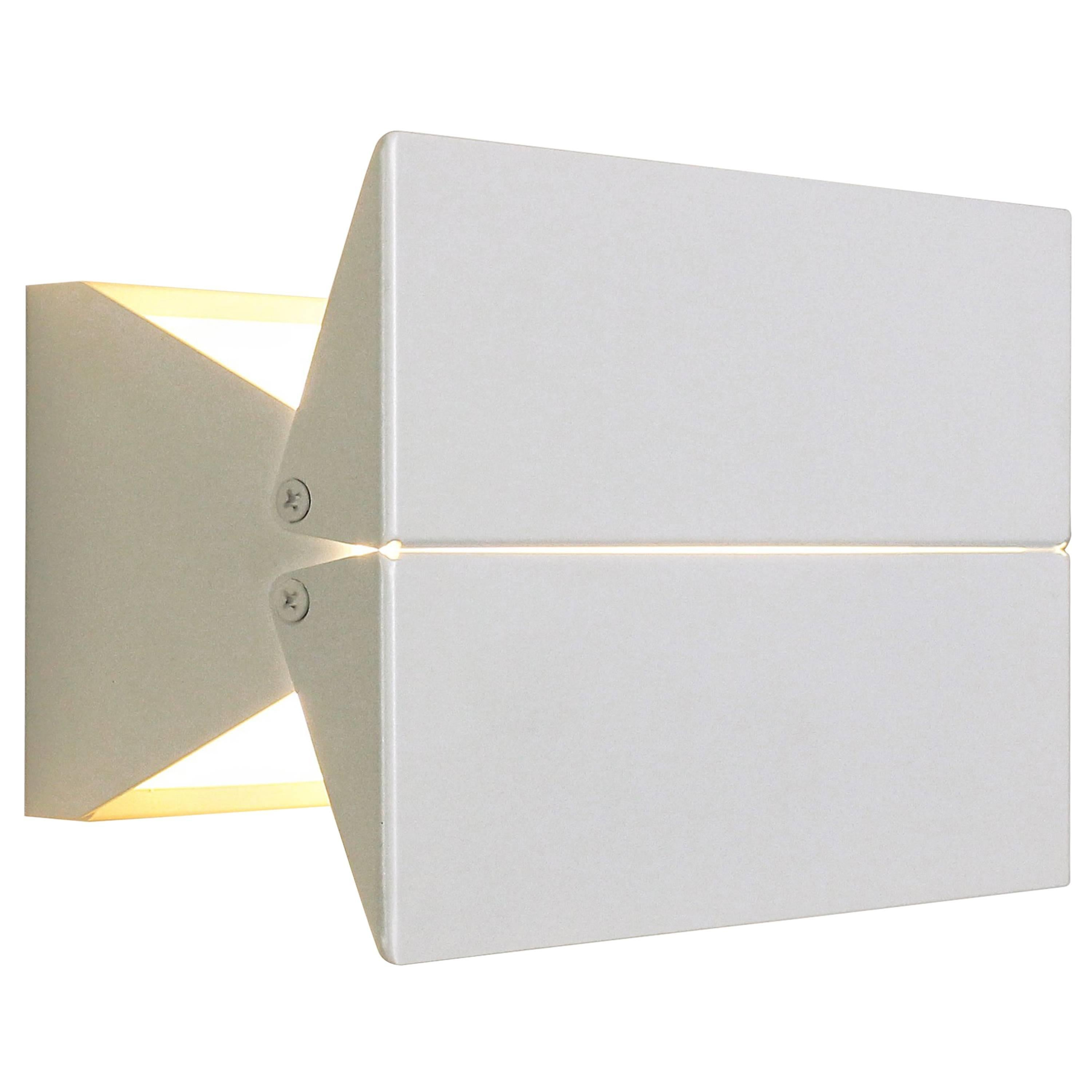 Outdoor Rated Ada Sconce 9 White by Brendan Ravenhill