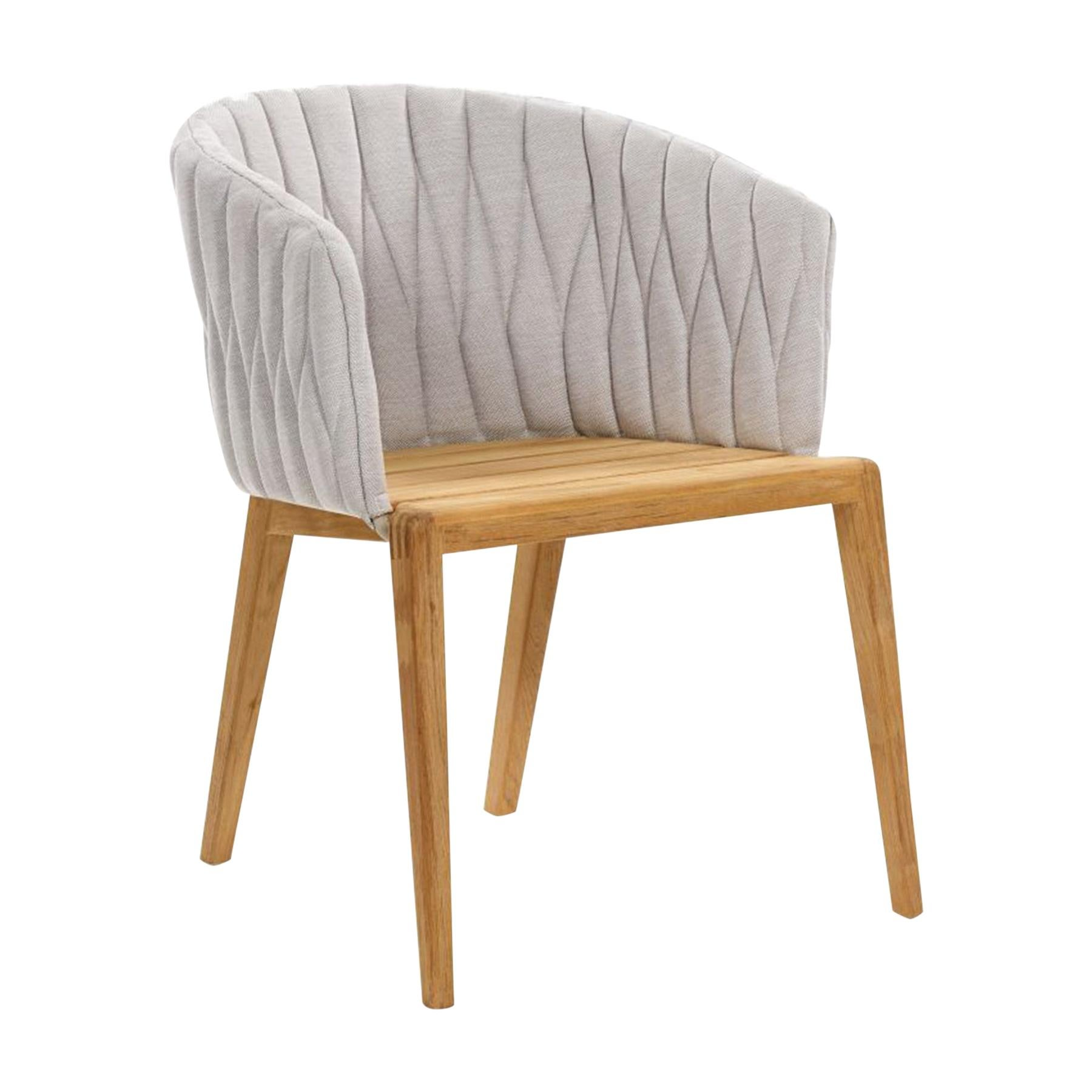 Outdoor Royal Botania Calypso Chair designed by Kris Van Puyvelde