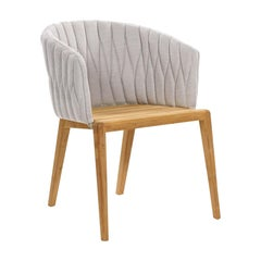 Outdoor Royal Botania Calypso Chair designed by Kris Van Puyvelde