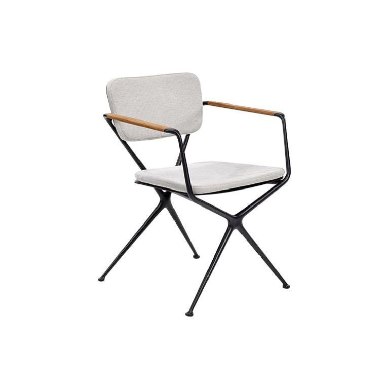 Outdoor Royal Botania Exes Dining Chair designed by Kris Van Puyvelde