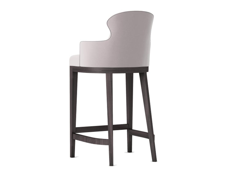 Modern Outdoor Sammarco Bar Stool by Coco Wolf For Sale