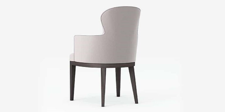 Modern Outdoor Sammarco Dining Chair by Coco Wolf For Sale