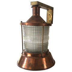 Outdoor Signed Perzel Lamp